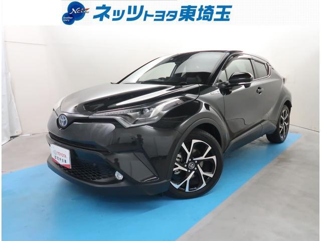 トヨタ C-HR G ナビフルセグ Bluetooth ハーフレザーシート