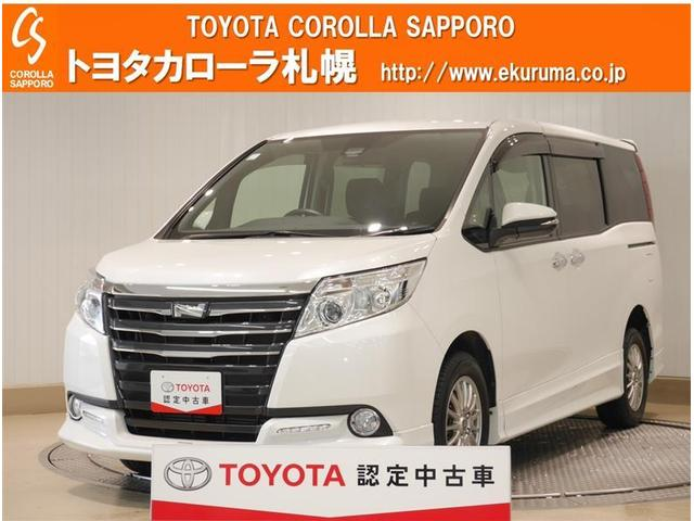 トヨタ ノア X ディライトプラス 4WD バックモニター 両側電動ドア オートエアコン ナビTV 寒冷地仕様