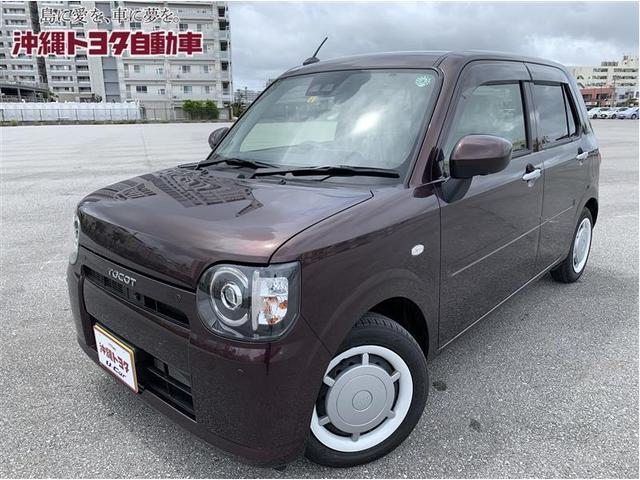 沖縄の中古車 ダイハツ ミラトコット 車両価格 115.5万円 リ済別 2020(令和2)年 0.5万km プラムブラウンパールCS