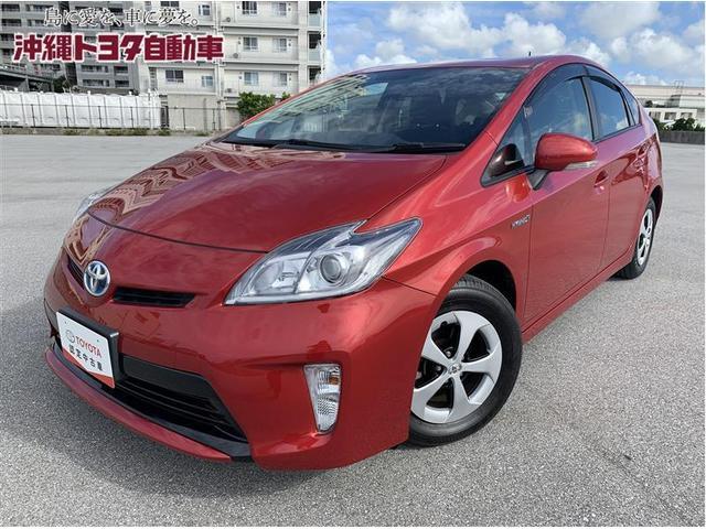 沖縄県の中古車ならプリウス S HIDヘッドライト 記録簿