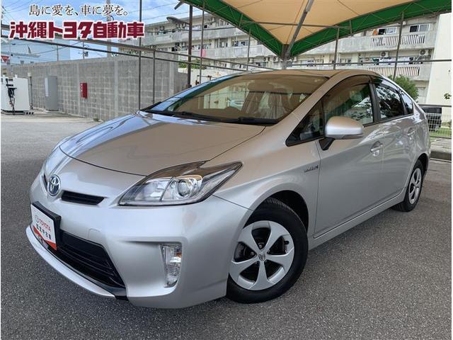 沖縄県の中古車ならプリウス S DVD再生 ETC HIDヘッドライト 記録簿