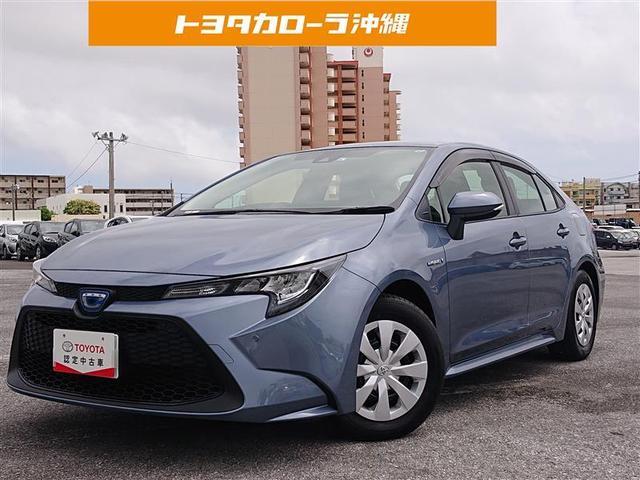 沖縄の中古車 トヨタ カローラ 車両価格 210万円 リ済別 2020(令和2)年 0.2万km グレー