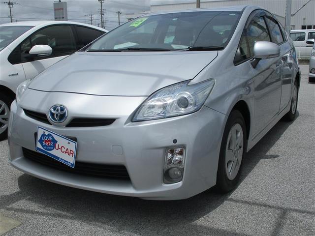 沖縄の中古車 トヨタ プリウス 車両価格 44万円 リ済別 2010(平成22)年 11.6万km シルバー