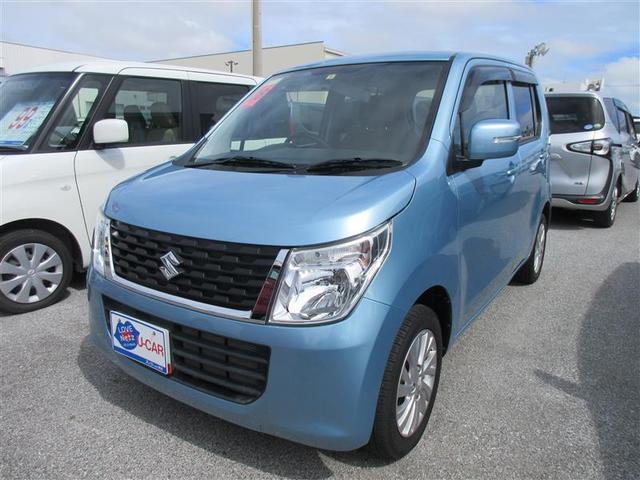 沖縄の中古車 スズキ ワゴンR 車両価格 71.5万円 リ済別 2016(平成28)年 3.0万km アオ