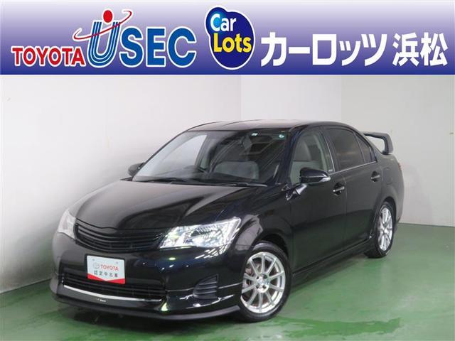 トヨタ カローラアクシオ 1.5G ドライブレコーダー パワステ DVD再生 横滑り防止装置 CD オートエアコン ABS エアバック カーテンエアバック キーレスキー Bモニター アルミホイール