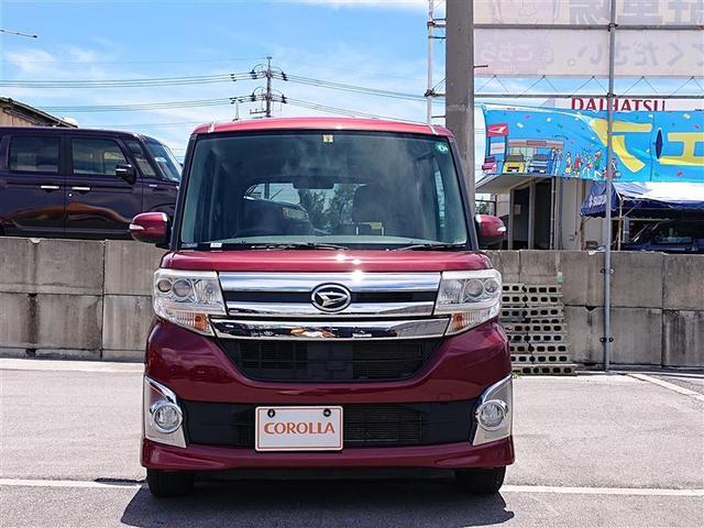 沖縄の中古車 ダイハツ タント 車両価格 99万円 リ済別 2014(平成26)年 5.8万km アカ