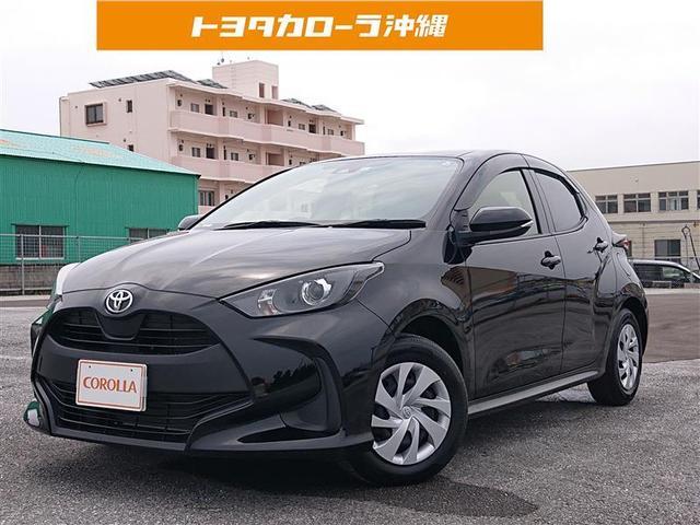 沖縄の中古車 トヨタ ヤリス 車両価格 149万円 リ済別 2020(令和2)年 0.8万km クロ