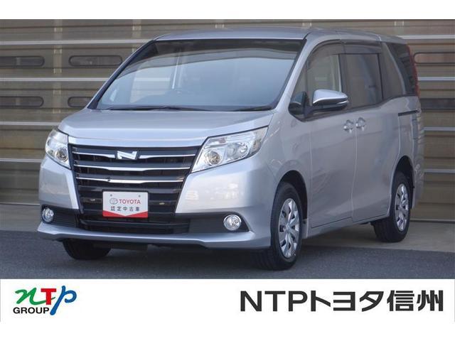 トヨタ ノア X 4WD フルセグ HDDナビ DVD再生 ミュージックプレイヤー接続可 ETC 両側電動スライド LEDヘッドランプ 乗車定員7人 3列シート アイドリングストップ
