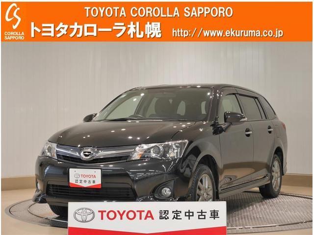 トヨタ カローラフィールダー 1.5G エアロツアラー 1オーナー車 4WD スマートキー HID ナビTV イモビライザー CDチューナー