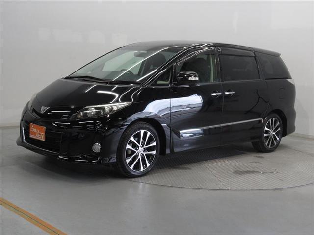 トヨタ エスティマ アエラス プレミアムエディション ETC 両側電動スライド LEDヘッドランプ 乗車定員7人 3列シート ワンオーナー
