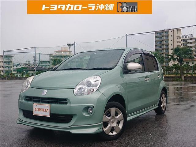 沖縄の中古車 トヨタ パッソ 車両価格 39万円 リ済別 2010(平成22)年 3.7万km ミドリ