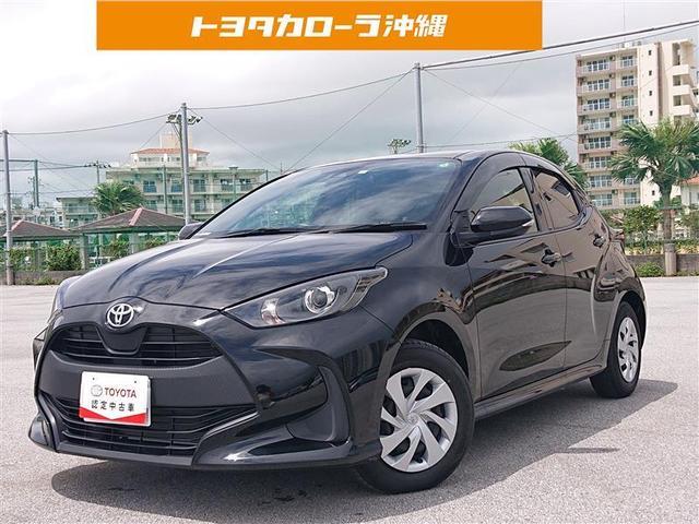 沖縄の中古車 トヨタ ヤリス 車両価格 154万円 リ済別 2020(令和2)年 0.6万km クロ