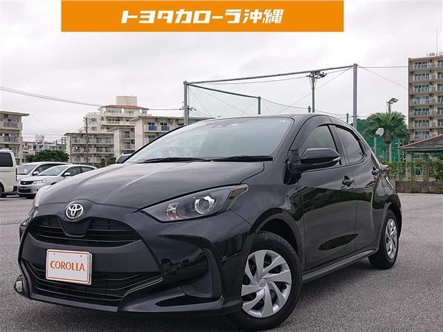沖縄の中古車 トヨタ ヤリス 車両価格 154万円 リ済別 2020(令和2)年 0.5万km クロ