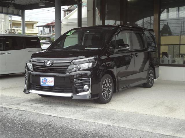 沖縄の中古車 トヨタ ヴォクシー 車両価格 187万円 リ済別 2015(平成27)年 5.0万km クロ