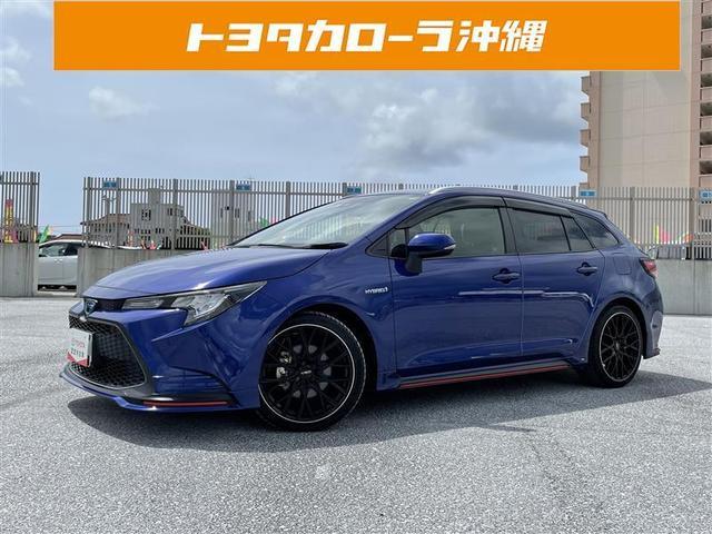 沖縄県糸満市の中古車ならカローラツーリング ハイブリッド S 記録簿