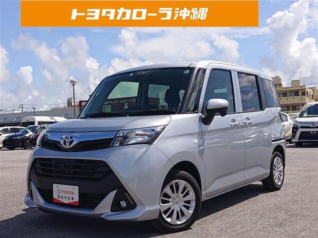 沖縄の中古車 トヨタ タンク 車両価格 130万円 リ済別 2018(平成30)年 4.8万km シルバー