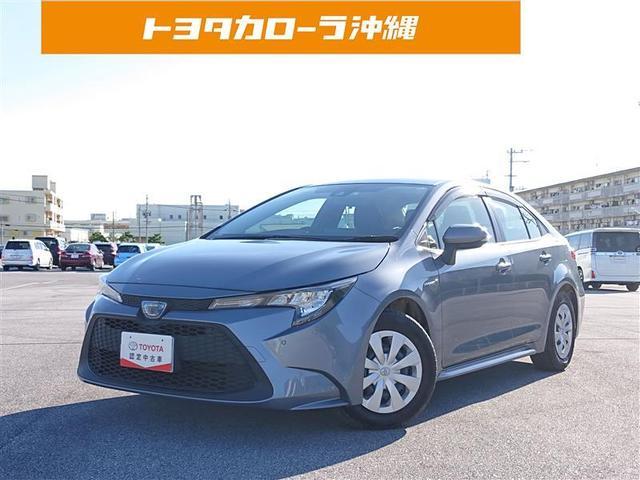 沖縄の中古車 トヨタ カローラ 車両価格 165万円 リ済別 2020(令和2)年 0.4万km グレー