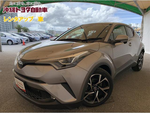 沖縄の中古車 トヨタ C-HR 車両価格 231万円 リ済別 2019(平成31)年 3.3万km メタルストリームメタリック