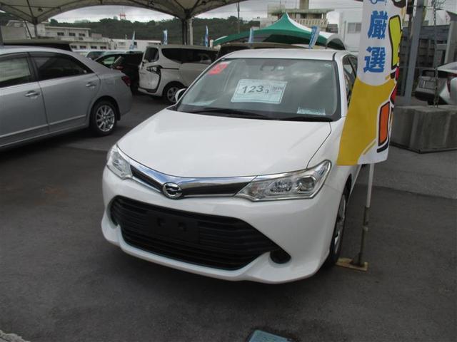 沖縄の中古車 トヨタ カローラアクシオ 車両価格 93.5万円 リ済別 2017(平成29)年 4.4万km シロ