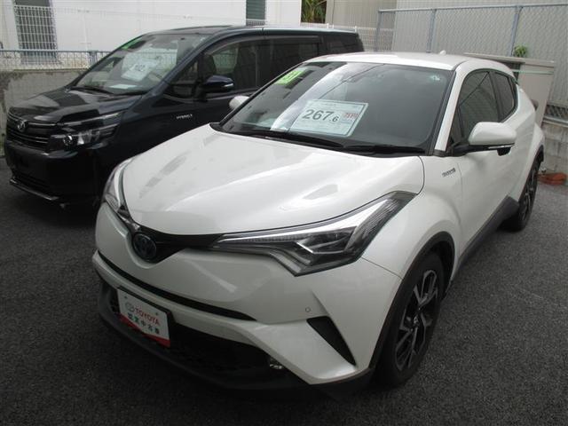 沖縄の中古車 トヨタ C-HR 車両価格 234.3万円 リ済別 2019(平成31)年 3.1万km パールマイカ