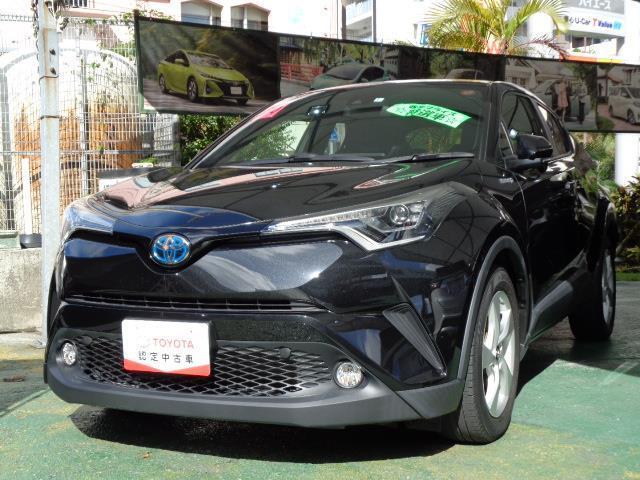 沖縄の中古車 トヨタ C-HR 車両価格 228万円 リ済別 2018(平成30)年 2.2万km クロ