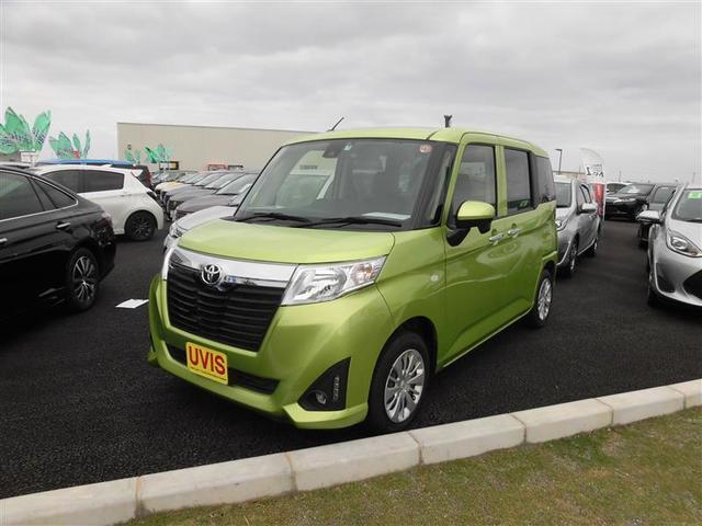 沖縄の中古車 トヨタ ルーミー 車両価格 88万円 リ済別 2017(平成29)年 3.9万km ミドリ