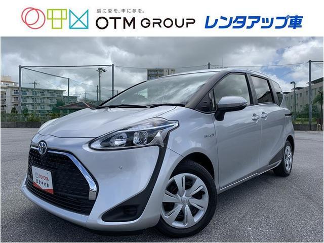 沖縄の中古車 トヨタ シエンタ 車両価格 201.3万円 リ済別 2019(令和1)年 2.7万km シルバー