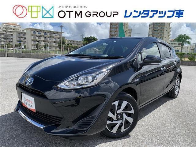 沖縄の中古車 トヨタ アクア 車両価格 168.3万円 リ済別 2020(令和2)年 0.8万km クロ