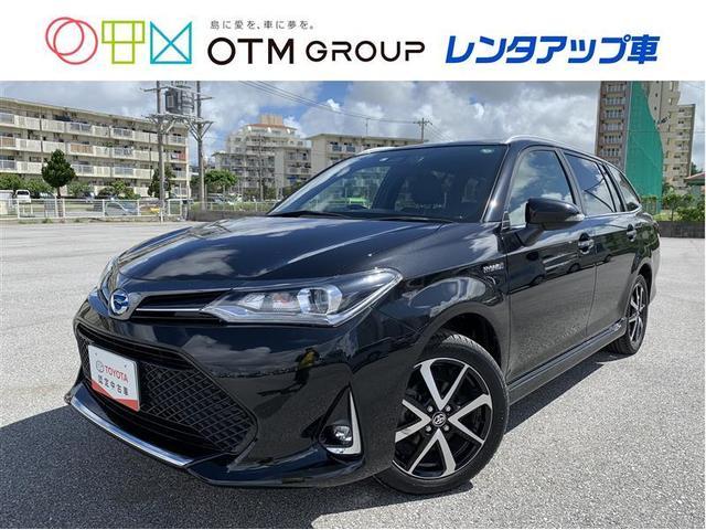 沖縄の中古車 トヨタ カローラフィールダー 車両価格 176万円 リ済別 2019(平成31)年 2.9万km クロ