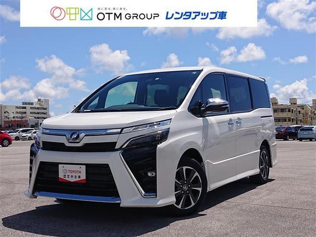 沖縄の中古車 トヨタ ヴォクシー 車両価格 256.3万円 リ済別 2019(令和1)年 2.6万km パールマイカ