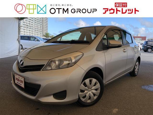 沖縄の中古車 トヨタ ヴィッツ 車両価格 55万円 リ済別 2012(平成24)年 3.4万km シルバーM