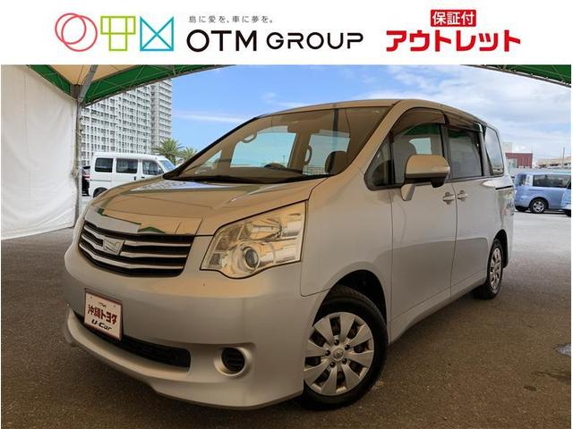 沖縄の中古車 トヨタ ノア 車両価格 77万円 リ済別 2013(平成25)年 10.9万km シルバーM