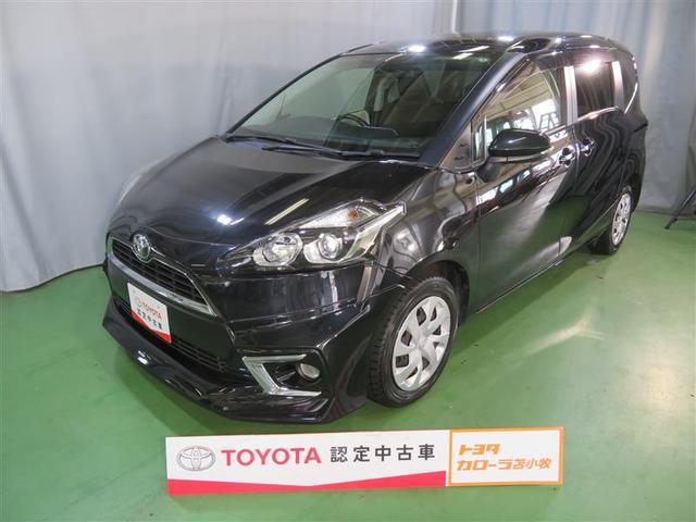トヨタ シエンタ G メモリーナビ 電動スライドドア 乗車定員7人 3列シート