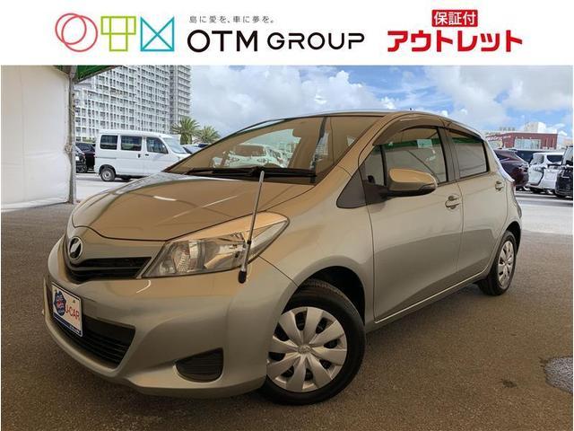 沖縄の中古車 トヨタ ヴィッツ 車両価格 55万円 リ済別 2012(平成24)年 3.0万km シルバー