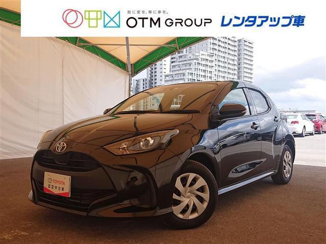 沖縄の中古車 トヨタ ヤリス 車両価格 149万円 リ済別 2020(令和2)年 0.4万km クロ