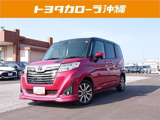 沖縄の中古車 トヨタ ルーミー 車両価格 142万円 リ済別 2017(平成29)年 3.9万km アカ