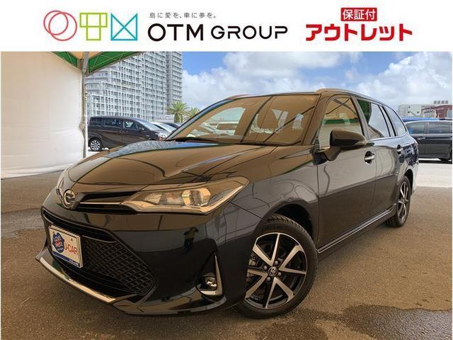 沖縄の中古車 トヨタ カローラフィールダー 車両価格 148.5万円 リ済別 2019(平成31)年 2.1万km ミドリ