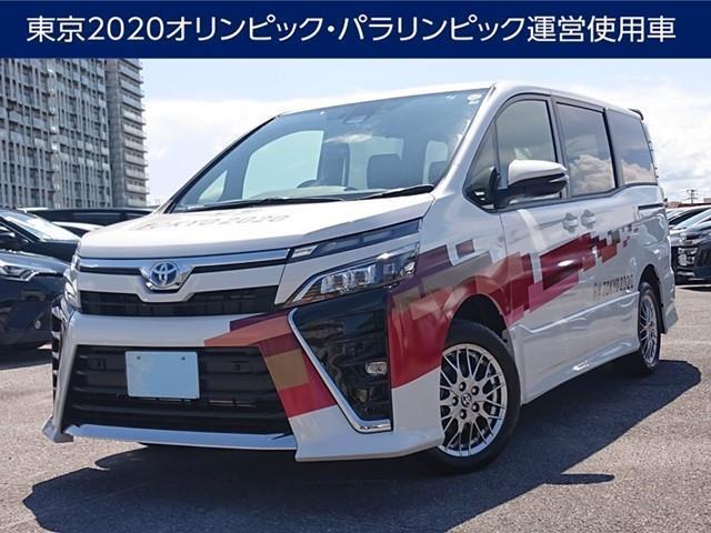 ヴォクシー(沖縄 中古車) 色:パールマイカ 価格:330万円 年式:2021(令和3)年 走行距離:0.1万km