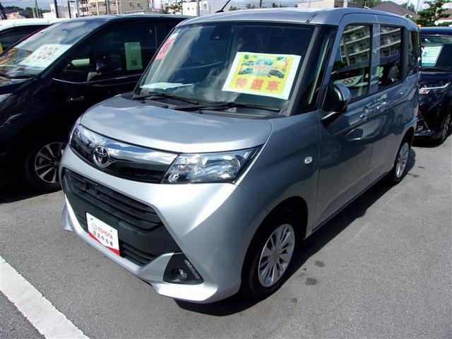 沖縄の中古車 トヨタ タンク 車両価格 104.5万円 リ済別 2018(平成30)年 3.8万km シルバー