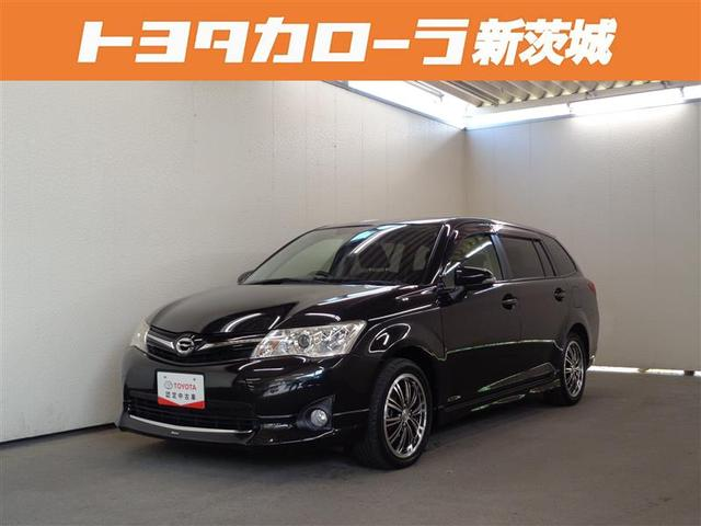 トヨタ 1.5G ワンセグ メモリーナビ DVD再生 ETC HIDヘッドライト フルエアロ 記録簿