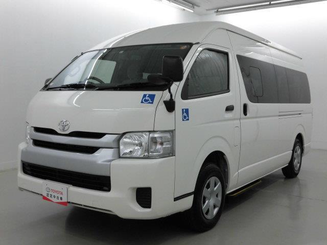 トヨタ ウェルキャブ4W 福祉車両 4WD ワンセグ メモリーナビ ミュージックプレイヤー接続可 バックカメラ ETC 電動スライドドア 乗車定員9人
