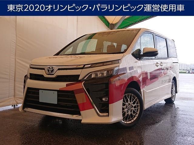 ヴォクシー(沖縄 中古車) 色:パールマイカ 価格:330万円 年式:2021(令和3)年 走行距離:0.2万km