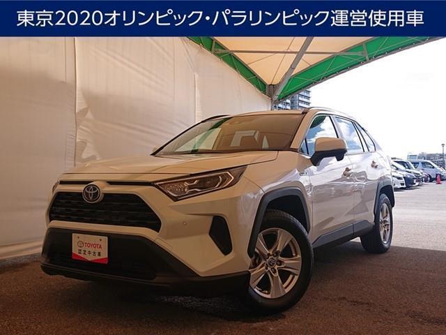 RAV4(沖縄 中古車) 色:ホワイトパールクリスタルシャイン 価格:363万円 年式:2020(令和2)年 走行距離:1.9万km