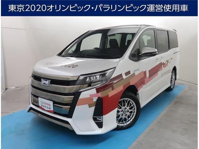 トヨタ ノア ハイブリッドSi 純正10型SDナビ サポカー フルセグTV Bluetooth接続 バックカメラ ETC LEDヘッドライト シートヒーター