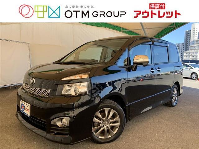 沖縄の中古車 トヨタ ヴォクシー 車両価格 77万円 リ済別 2011(平成23)年 7.7万km クロ