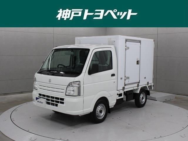 スズキ レイゾウレイトウ 冷蔵冷凍車 届出済未使用車 4WD