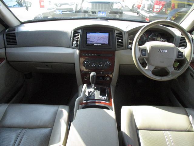 クライスラー・ジープ クライスラージープ グランドチェロキー リミテッド4.7 4WD 革シート フルセグナビ Bソナー