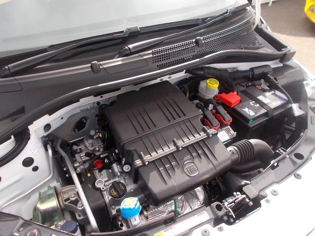 伝統のユニット、1,200CC FIREエンジン搭載!軽快に吹け上がり、嬉しくなる燃費性能も兼ね備えています。