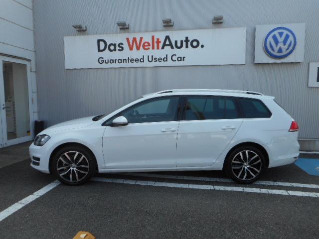 フォルクスワーゲン VW ゴルフヴァリアント TSI Highline Navi DCC ワンオーナー