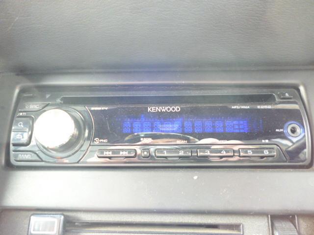 社外CDコンポ搭載。